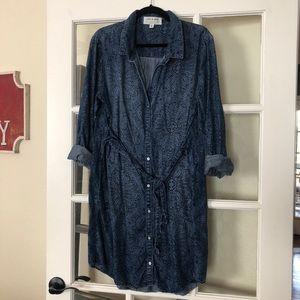Anthropologie Cloth&Stone Printed Dress